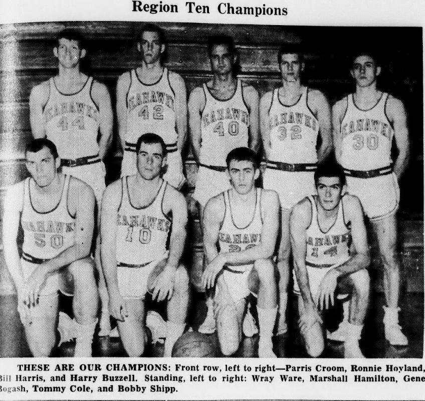 1963 Seahawk basketball team