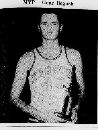 "Gene ""Bogie"" Bogash - Wilmington College Basketball All-Star and 1963 NJCC Player of the Year"