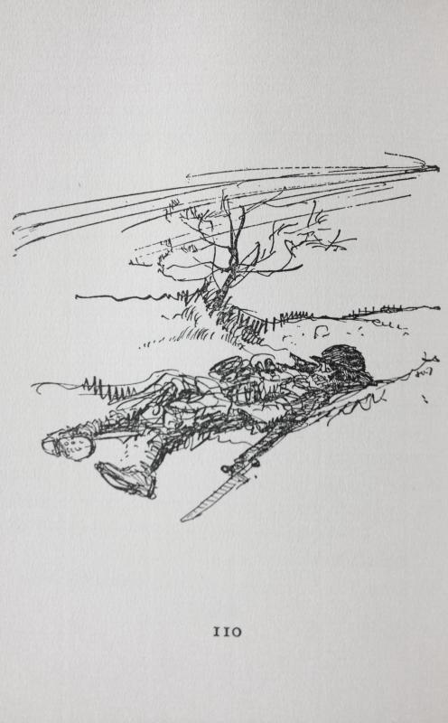 Illustration by Captain John Thomason for No Man's Land
