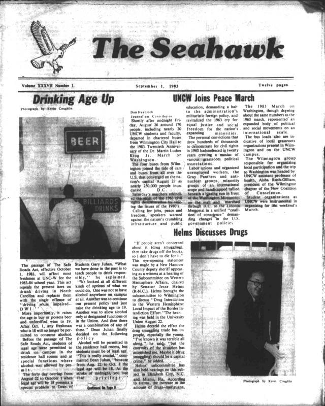 The Seahawk, September 1, 1983