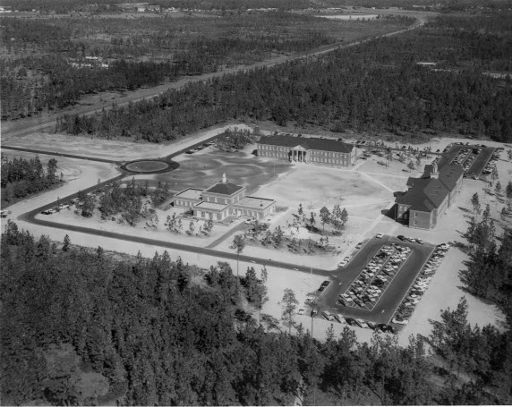 Aerial view, Wilmington College, 1962