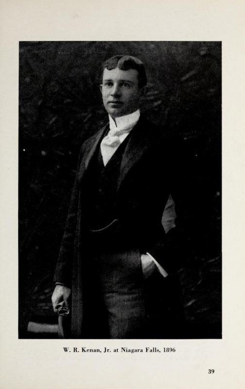 Wiilliam R. Kenan in 1896, at age 24