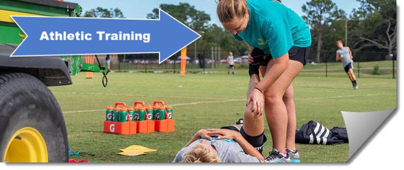 Click to view the Athletic Training guide