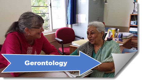 click to view the gerontology guide