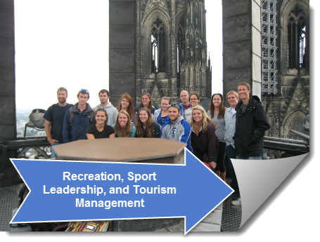 Link to Recreation, Sport Leadership, and Tourism Management Guide