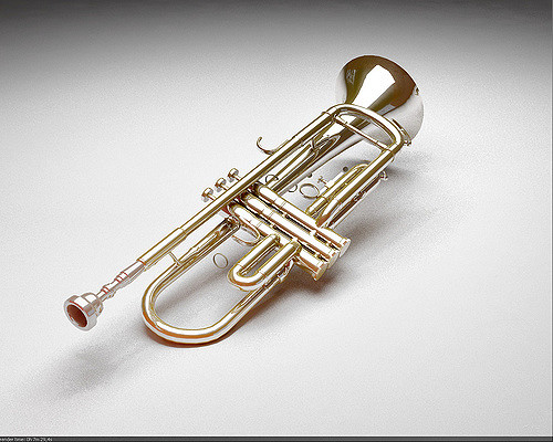 """Vray - Trumpet (3Ds Max)""by raphaelstradais licensed under CC by 2.0"