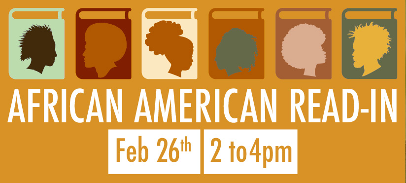 African American Read-In on Feb 26, 2021 from 2 to 4pm