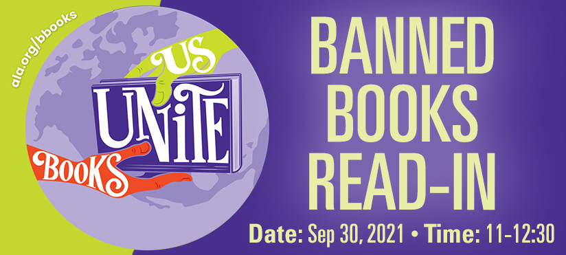 Banned Books Read-in 2021