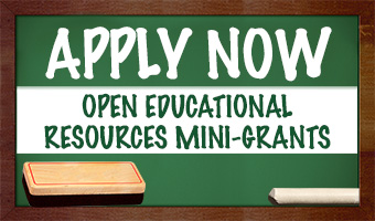Apply Now Open Educational Resources Mini-Grants