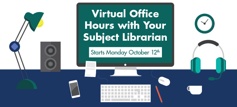 Virtual Office Hours with Your Subject Librarian