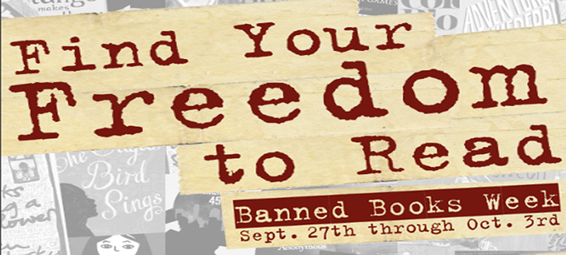 Banned Books Week 2020 & Bookless Display