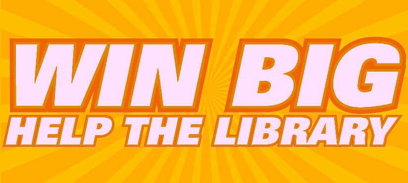 Win Big, Help the Library logo