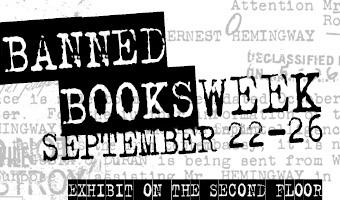 Banned Books Week Randall Library Exhibit