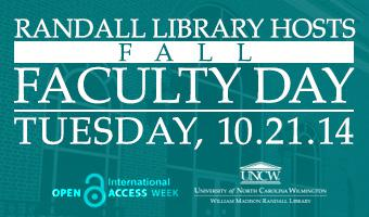 Randall Library Fall Faculty Day
