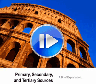 Primary, secondary and tertiary sources video