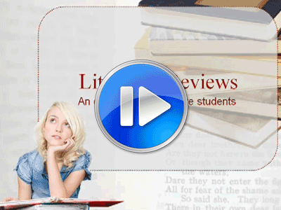 Literature review for grad students